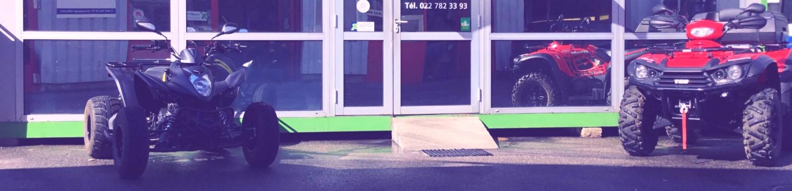 Vente, réparation et entretien de QUAD Genève